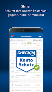 CHECK24 Finanzmanager Screenshot