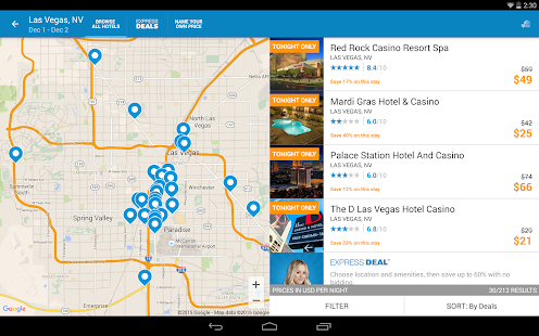 Priceline Hotels, Flight & Car Screenshot 5