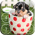 Puppy Dog Pin Lock Screen icon