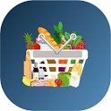 Grocery shopping list - shopping list organizer icon