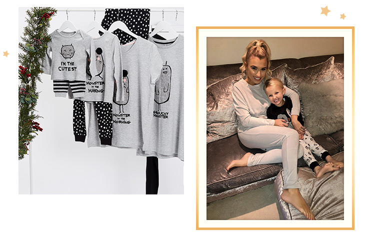 Snuggle up this Christmas with our festive PJ range