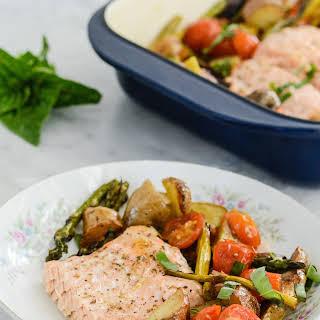 Salmon Potatoes And Asparagus Recipes.