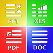 All Document Reader: PDF, PPT, RTF, DOC, ODF, XLSX