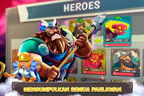 Vikings Pahlawan Perang Mod