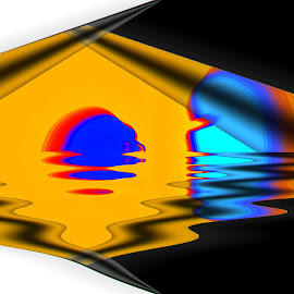 Abstract by Gaylord Mink - Abstract Patterns ( pattern, abstract, water )
