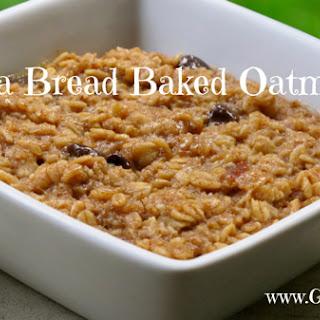 Banana Bread Baked Oatmeal (Page 83)