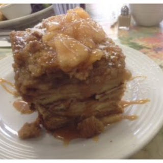 Apple Streusel French Toast Bake