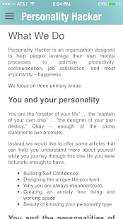 Personality Hacker- screenshot thumbnail