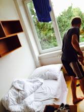 Photo: de kamer voor slapen en ontspannen tussen de trainingen door.