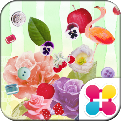 Cute Wallpaper Flamingo Flower Icon