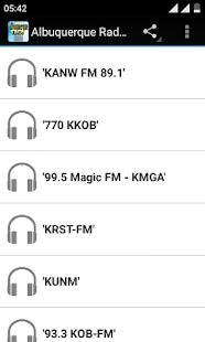 Albuquerque Radio - náhled