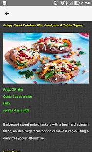 Vegetarian Cuisine Recipes - náhled