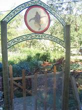 Photo: Yoga Farm, CA - entrance to veg garden
