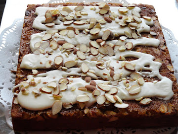 Almond-laced Banana Cake Recipe