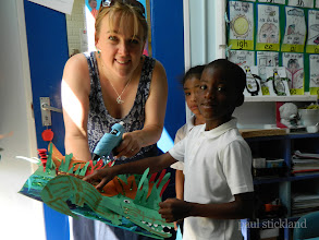 Photo: Sally Gardner - Fairchildes Primary, Croydon