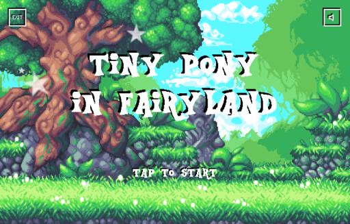 Tiny Pony In Fairyland