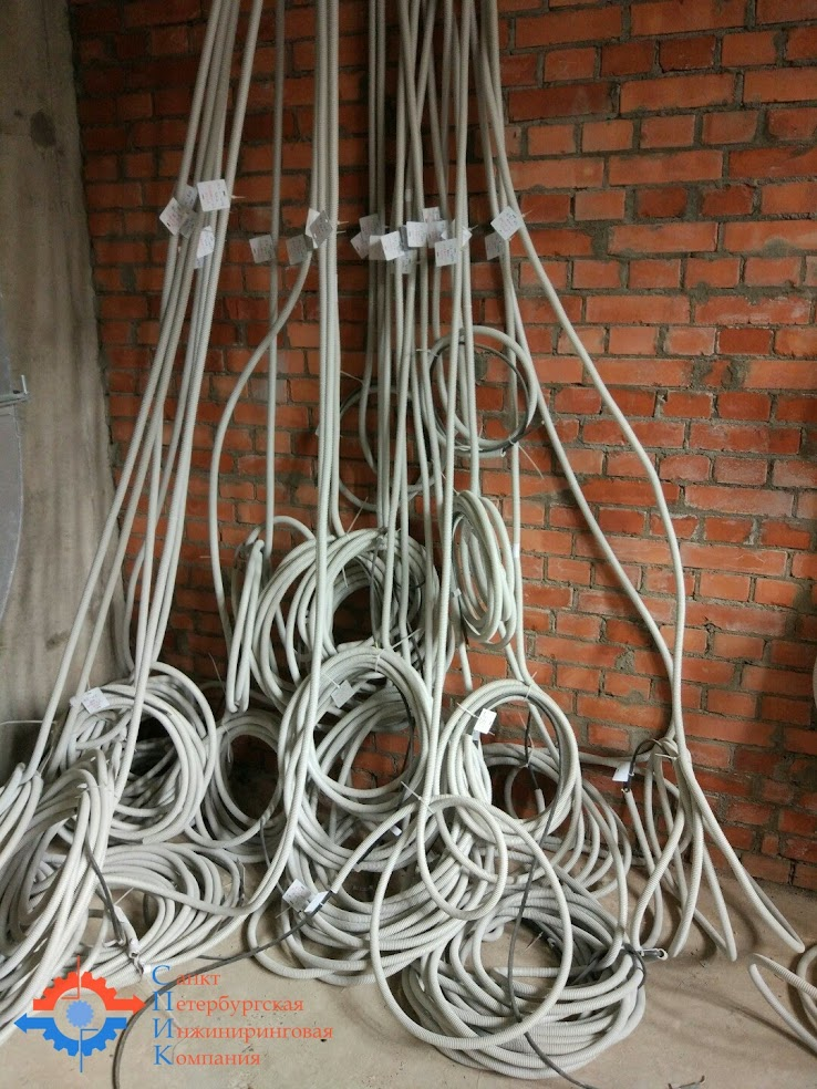ООО «СПИК» Санкт-Петербургская Инжиниринговая Компания Прокладка кабелей