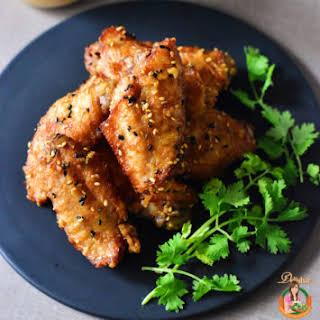 Sesame Fried Chicken.