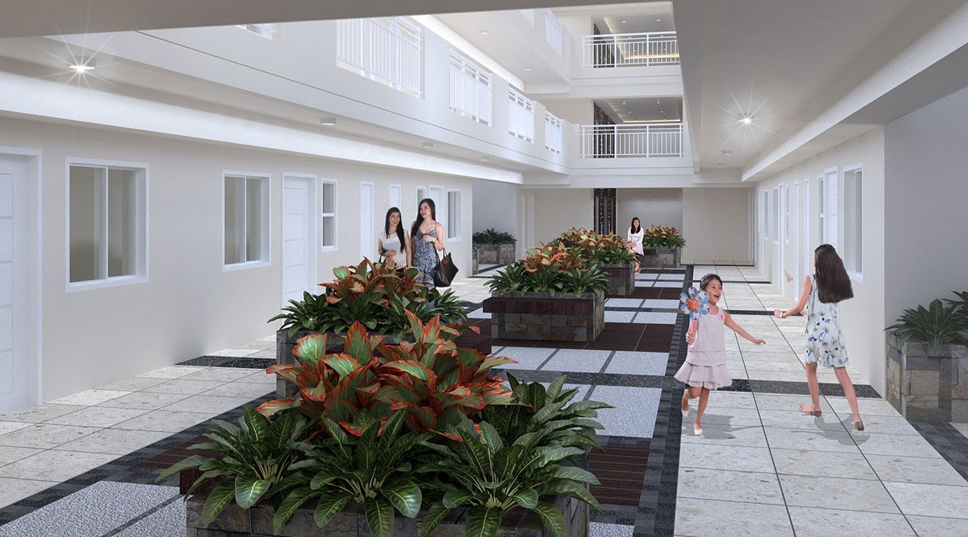 Kai Garden Residences, Mandauyong single loaded corridors
