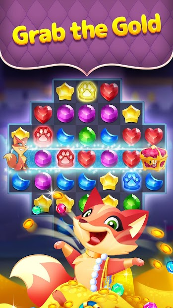 Genies & Gems - Jewel & Gem Matching Adventure Android App Screenshot