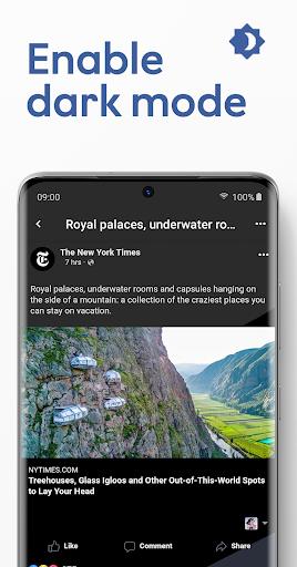 Maki: Facebook & Messenger in one application  screenshots 3