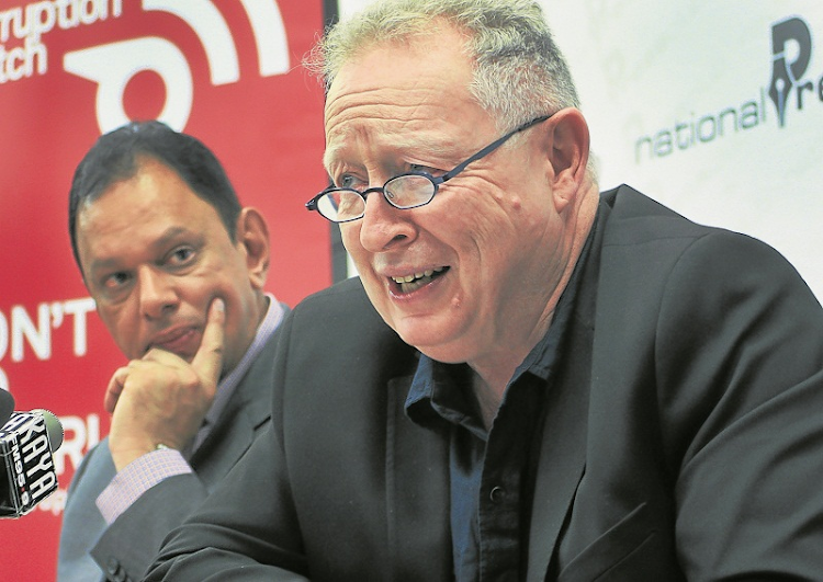 Corruption Watch executive director David Lewis.  Picture:  PUXLEY MAKGATHO