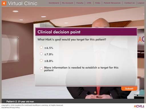 T2DM Virtual Clinic 1.0.2 screenshots 5
