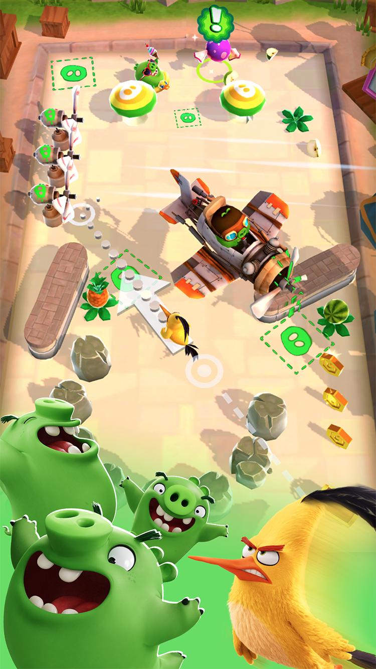 Angry Birds Action! screenshot #5