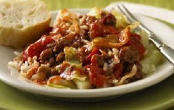 Unstuffed Cabbage Skillet Recipe