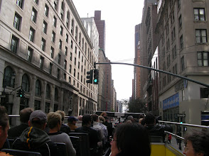 Photo: Sightseeing from the double decker