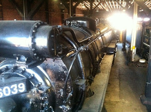 Photo: Steamtown June 2014 inside the roundhouse