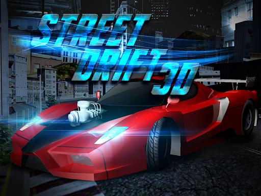3Dレースゲームドリフト