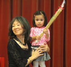 Photo: YuLan en kleindochter