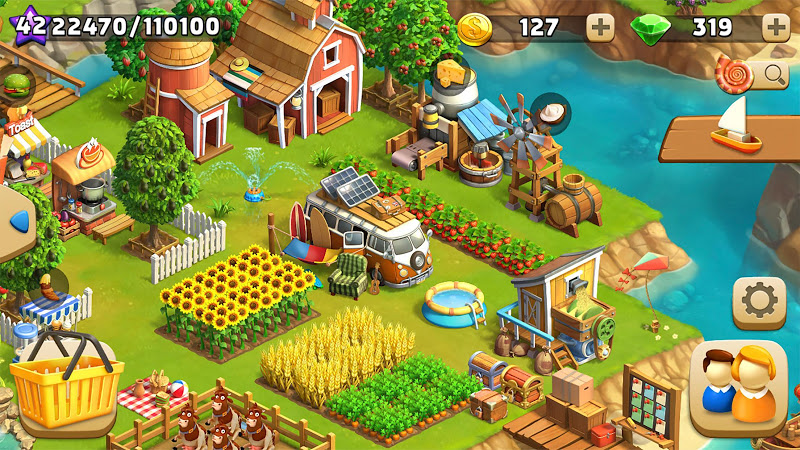 Funky Bay - Farm & Adventure game Screenshot 11