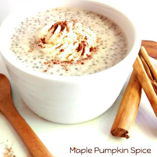 Maple Pumpkin Spice Chia Pudding