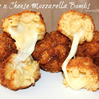 ~Mac n Cheese Mozzarella Bombs!