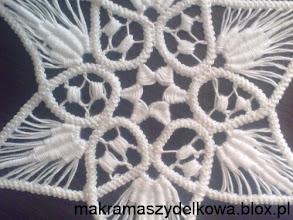 Photo: romanian point lace