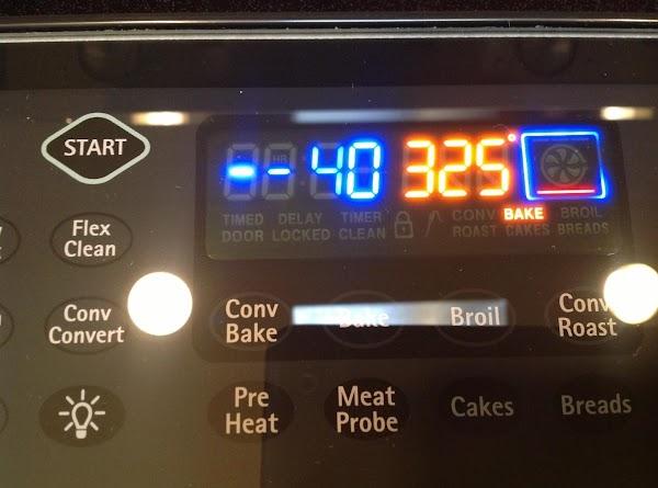 Bake for 40-50 minutes until golden brown.