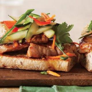 Banh Mi Vietnamese Sandwiches.