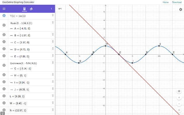 تطبيق GeoGebra Graphing Calculator