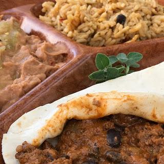 Beef Enchilada.
