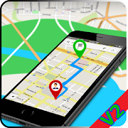 GPS Navigation Maps - Traffic Route Finder 3D View