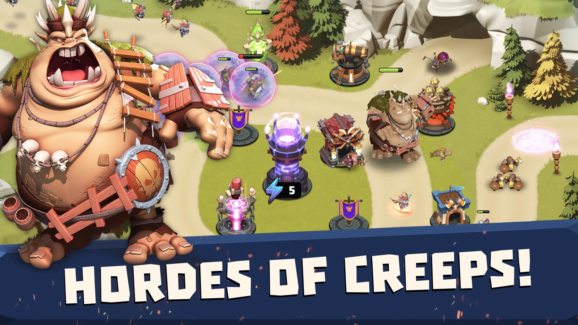 Castle Creeps TD screenshot #4