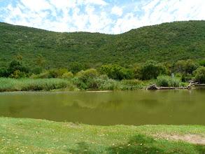 Photo: Krokodil rivier is besoedel en het 'n paar regte krokodille - swem verbode maar redelike hengelvooruitsigte.