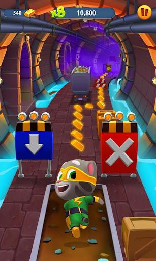 Talking Tom Gold Run 3D Game screenshot 3