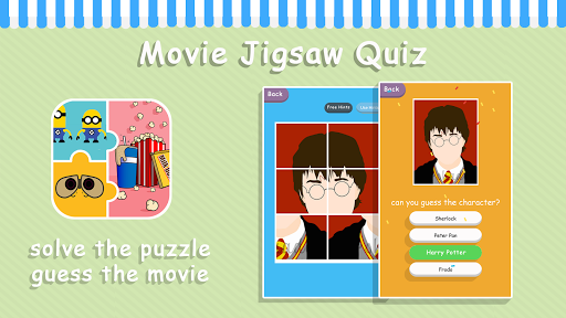 Movie Jigsaw Quiz