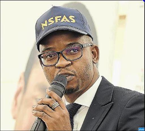 Image result for Kagisho Mamabolo nsfas