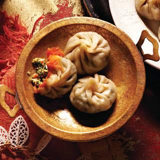 Tibetan Momo Dumplings.