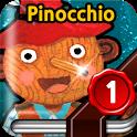 Pinocchio - Animated storybook icon