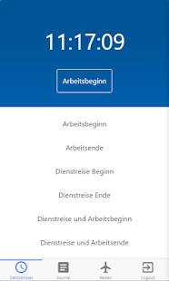 proTime SAP Zeiterfassung - náhled